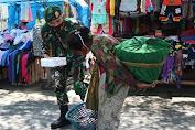 Berbagi Kebahagiaan, Prajurit Yonif Mekanis Raider 411 Kostrad Berbagi Makan Siang Di Salatiga