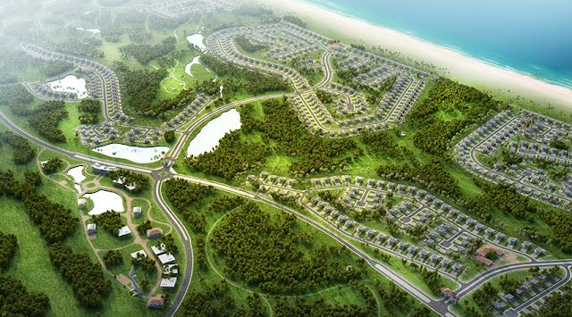 Phối cảnh tổng thể dự án FLC Quảng Bình