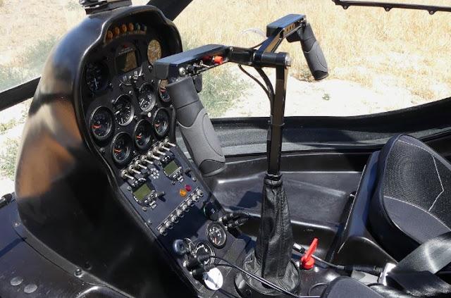 Dynali H3 Sport cockpit