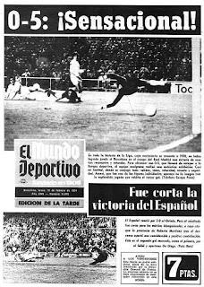 Real Madrid 0 Barcelona 5 1974