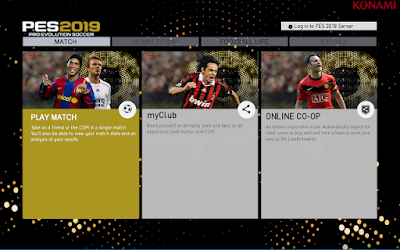 PES 2013 Graphics Menu PES 2019