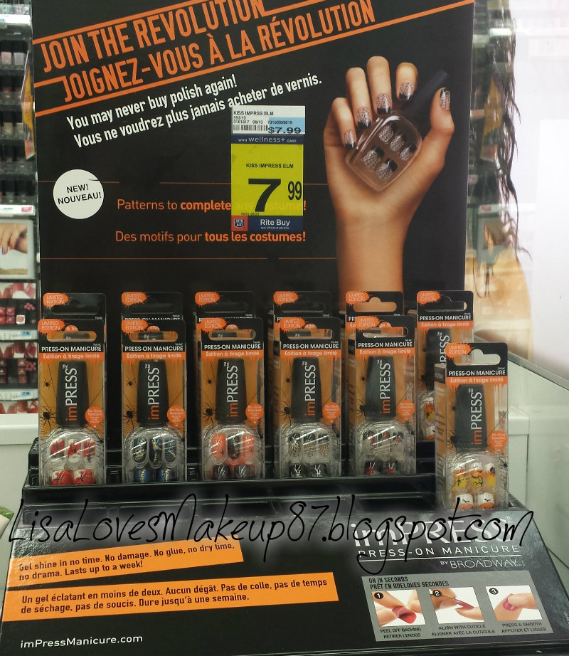 LisaLovesMakeup87: Spotted: Kiss imPress Press-On Nails ...