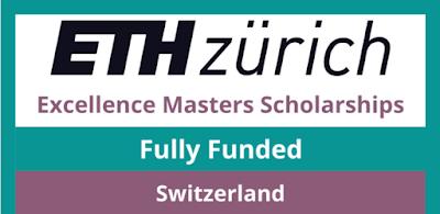 منحة ETH Zurich Scholarship 2022 (ممولة بالكامل) | عملية التطبيق