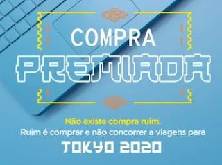 Cadastrar Promoção Cartão Caixa Viagem Tokyo 2020 Olimpíadas - Compra Premiada