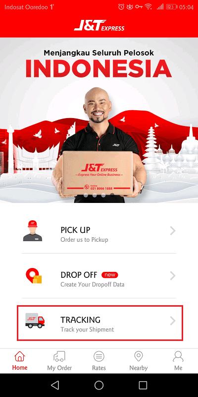 jnt express memiliki aplikasi android dan ios