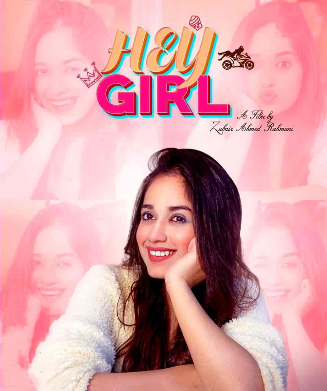 Hey Girl Song Image Features Jannat Zubair Sung By Miss Pooja