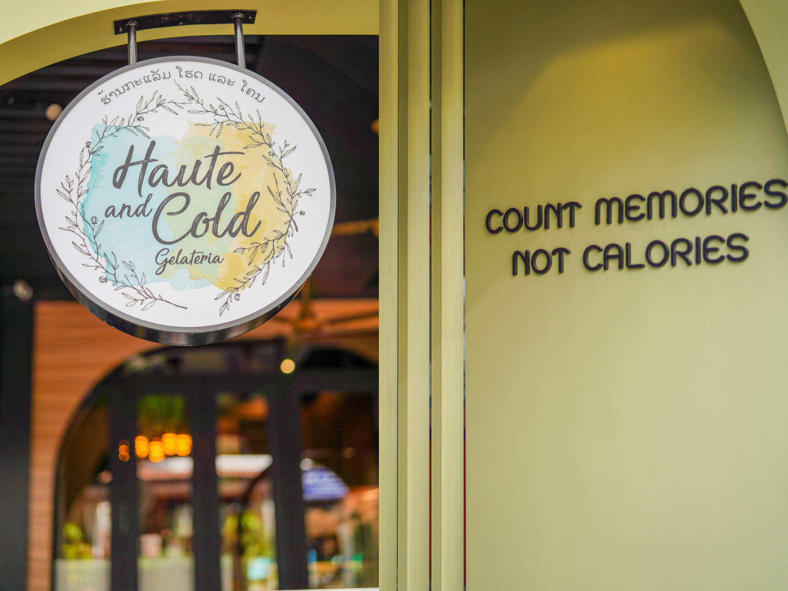 Haute & Cold Gelateria, Laos