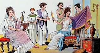 pettinatrici del passato, come si acconciavano gli antichi romani