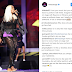 Fans call out Tiwa Savage for continuing to perform barefoot