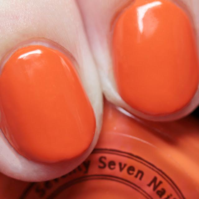 Seventy-Seven Nail Lacquer Pumpkin Spice Queen