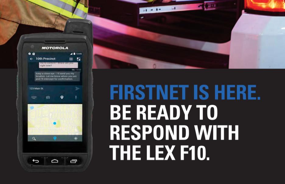 Motorola Solutions Launches The Lex F10