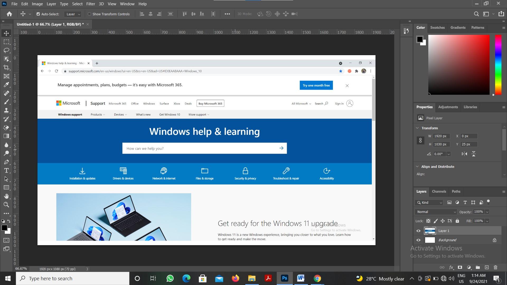 screenshots in windows 10 alt print screen