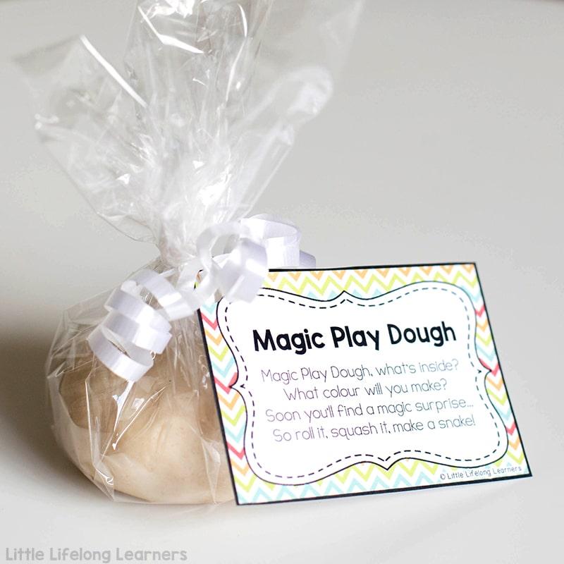 how to make magic playdough