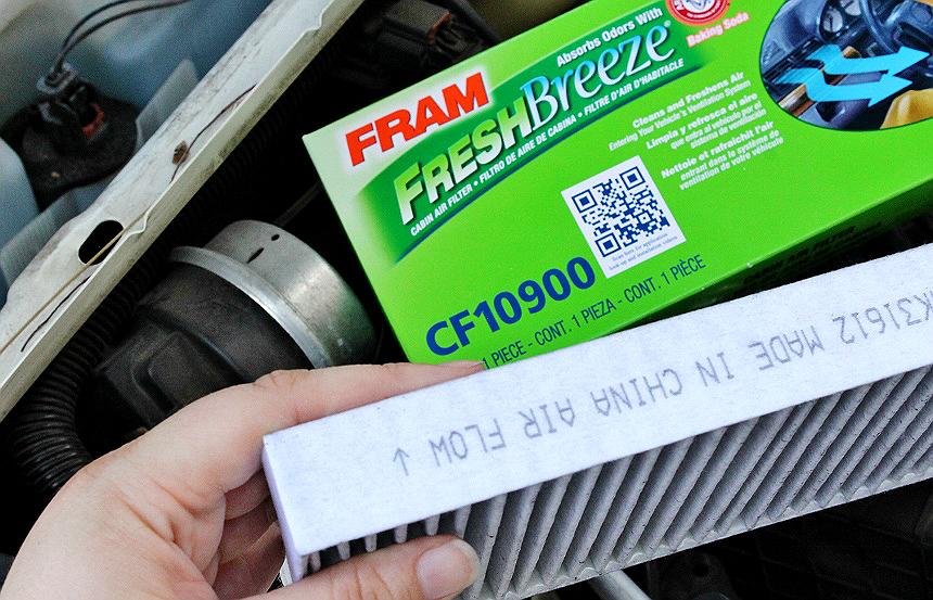 FRAM CF10900 Fresh Breeze Cabin Air Filter