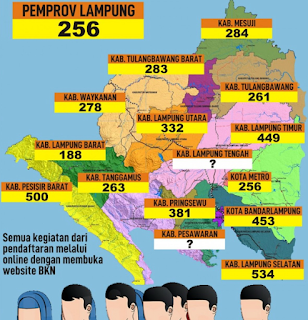 Formasi CPNS 2018 Propinsi Lampung