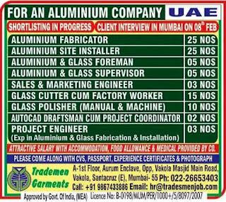 Aluminium Company Required for UAE