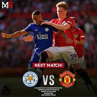 «Лестер Сити» — «Манчестер Юнайтед»: прогноз на матч, где будет трансляция смотреть онлайн в 18:00 МСК. 26.07.2020г.