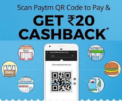 Paytm pay and scan