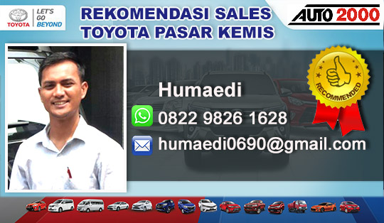 Toyota Pasar Kemis Tangerang