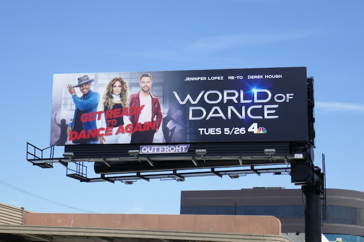 World of Dance season 4 billboard