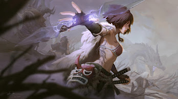 Fantasy, Girl, Warrior, 4K, #6.2542