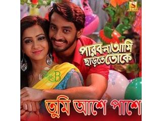 Tumi ashe pashe Lyrics in bengali-Parbo na ami charte toke