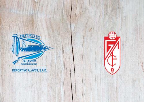 Deportivo Alavés vs Granada -Highlights 01 July 2020