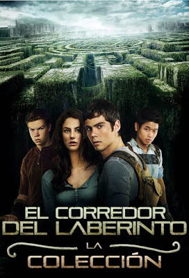 The Maze Runner Colección DVD R1 NTSC Latino