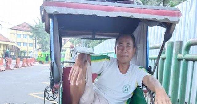 Curhat Tukang Becak, Kami Bukan Mati Karena Corona, Tapi Mati Kelaparan