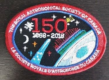 RASC 150th anniversary crest