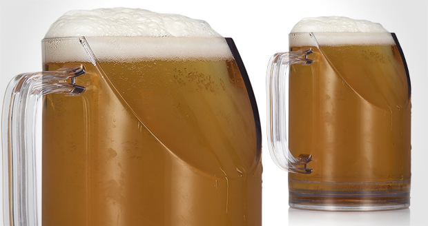 TV Compatible Beer Glass