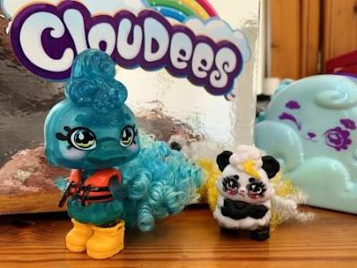 Cloudees Wistful Platypus and Cloudees Mini Surly Panda