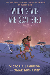 when stars are scattered by victoria jamieson and omar mohamed book cover