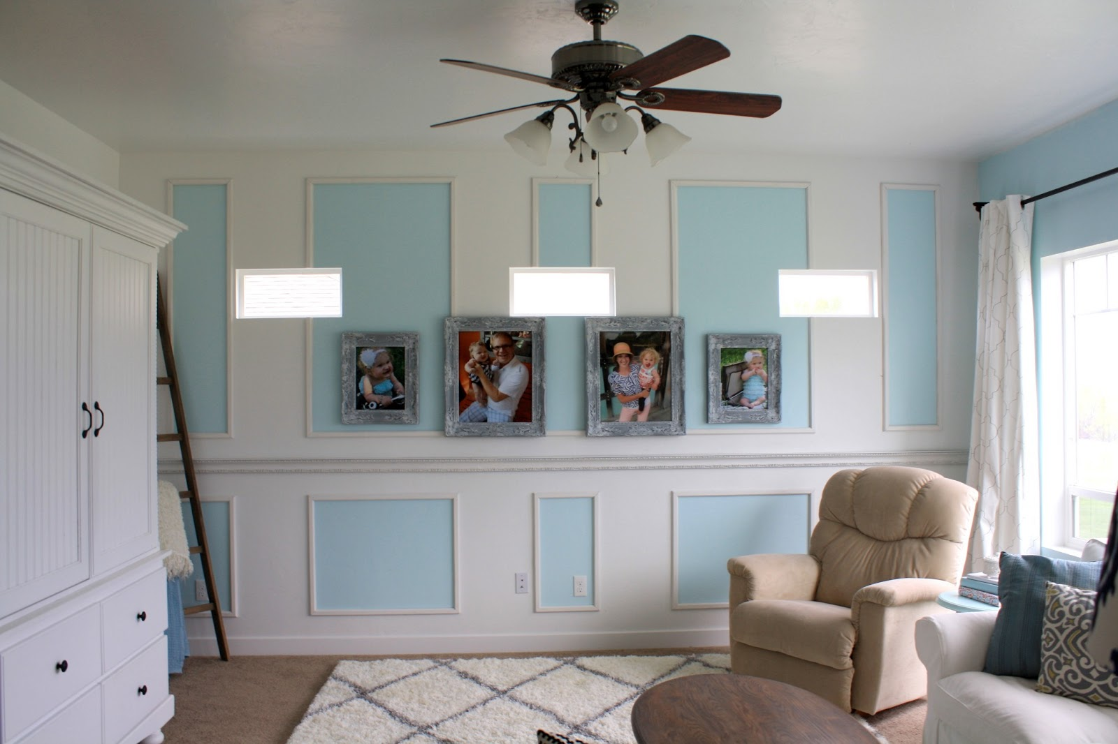 [View Larger]. Living Room Wainscoting ...