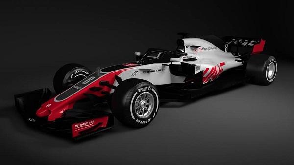 Haas VF-18 Fórmula 1 2018