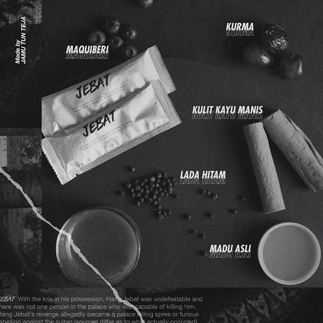 Jebat Produk Minuman Tenaga Untuk Lelaki Dari Jamu Tun Teja