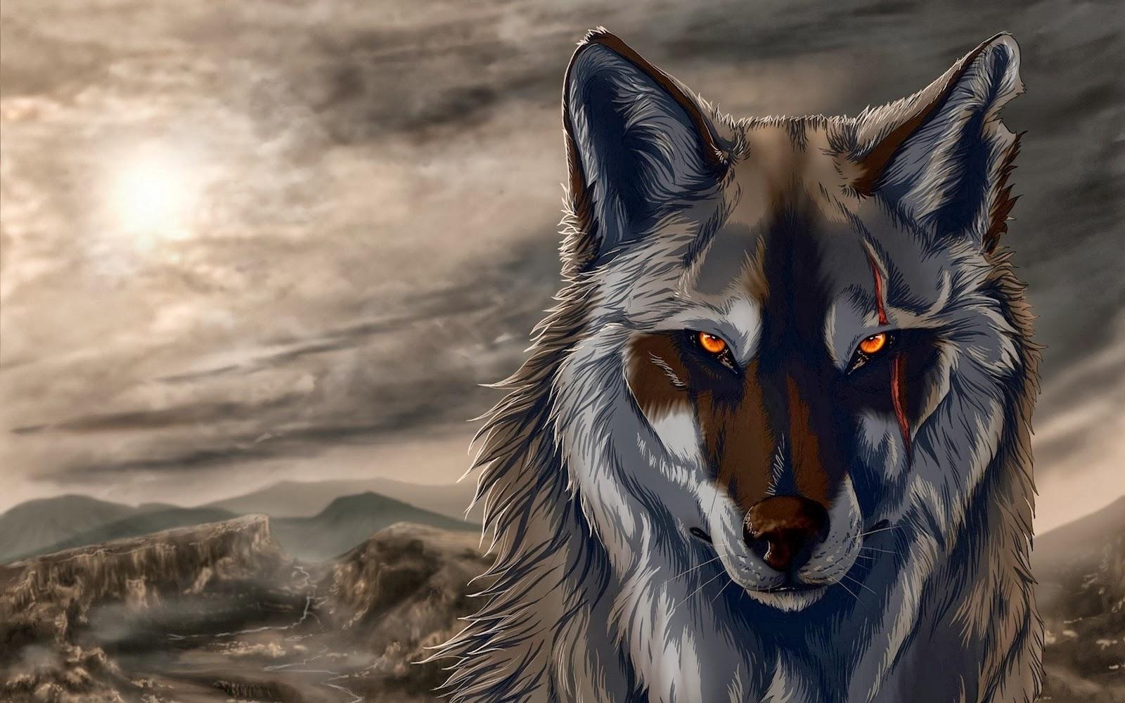 Magic Wallpaper Iphone X Fireworld Dark Wolf 3d Wallpapers