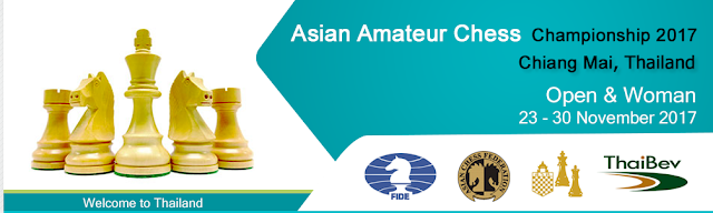Registration for Asian Amateur Chess Championship 2017