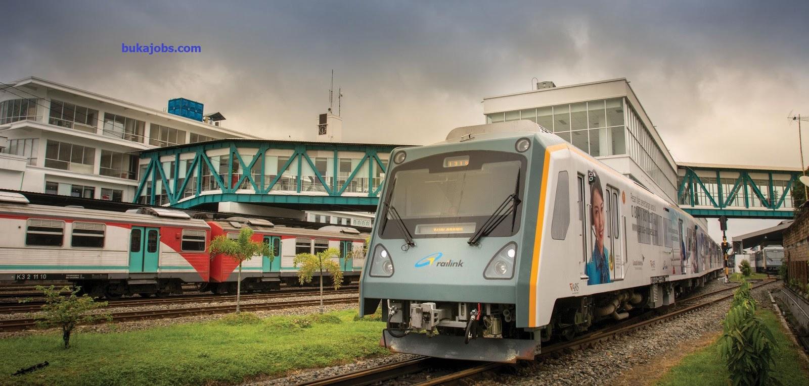 Lowongan Kerja PT Railink Indonesia (Kereta Api Bandara) 20199