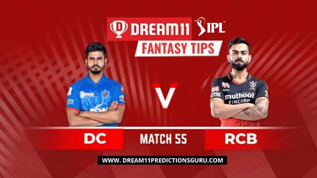 Delhi Capitals vs Royal Challengers Bangalore Dream11 Fantasy Tips and Predictions