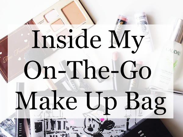 Inside My On-The-Go Make Up Bag