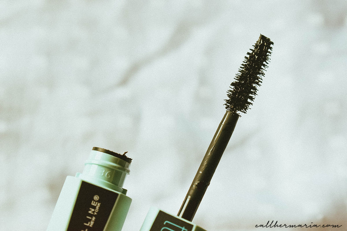 Maybelline Total Temptation Waterproof Mascara Review - Wand Bristles