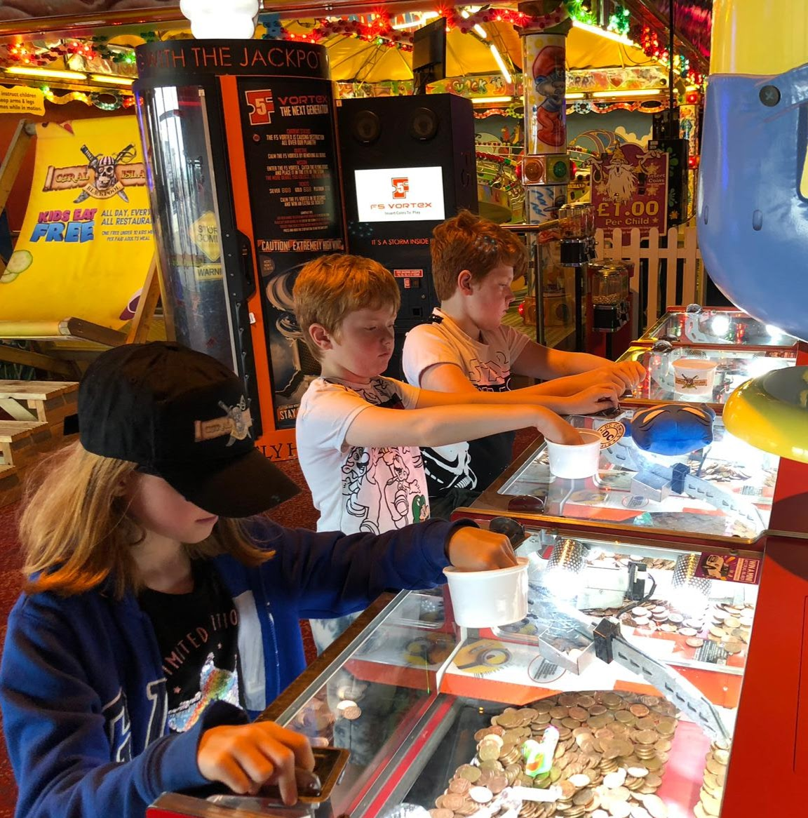 An A-Z Guide to Coral Island, Blackpool - 2p machines