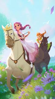 Sissi wins a horse race against Ida