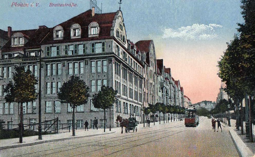 transpress nz: Plauen trams, Germany
