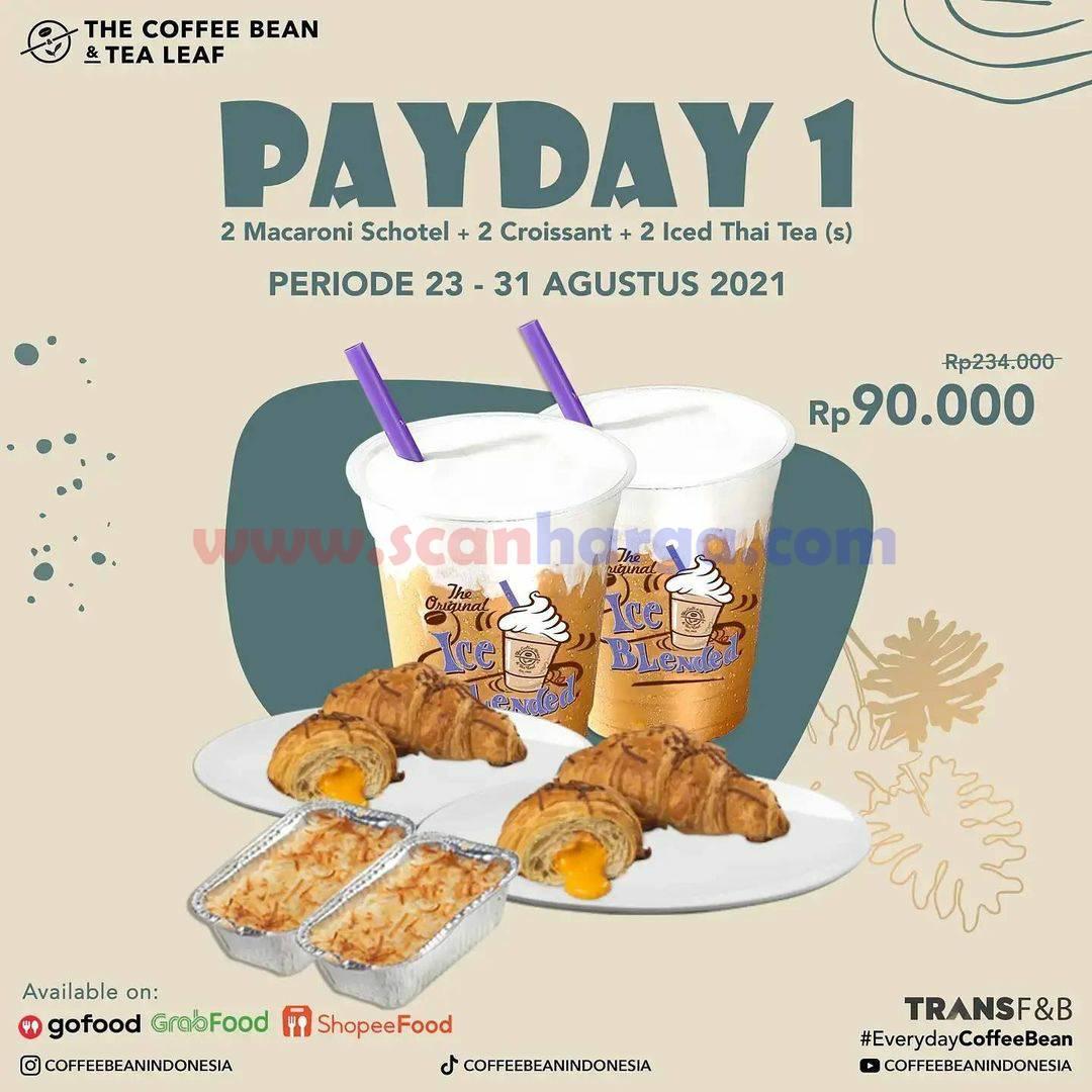 Promo The Coffee Bean Payday - harga Paket mulai Rp. 90.000,-
