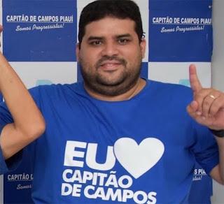Secretário de Saúde de Capitão de Campos morre vítima de Covid-19