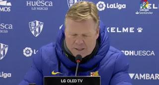 Koeman reveals one secret for Barca's  La Liga hopes this season