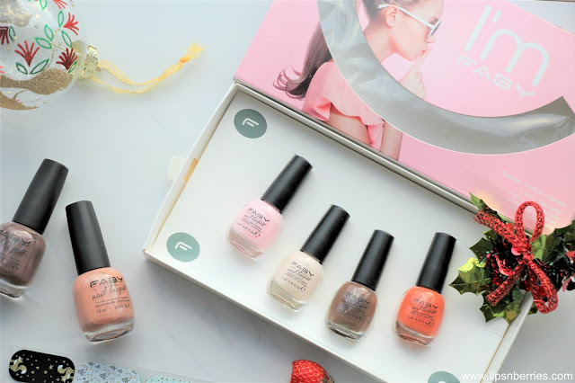 Faby nail paint review