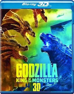 Godzilla 2: El Rey de los Monstruos [BD25 3D] *Con Audio Latino